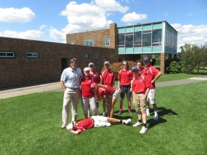 With Coach Jorie Ftorek and the talented and fun Binghamton High School golf team up at Ely Park.