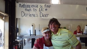 With Darling Darlene in her diner feeding the volunteers in  29 THE PLAYERS Championship, 7 PGA TOUR Championships and now 5 Web.com Tour Championships.