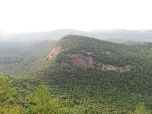 View of Rock Mountain from Chimney Top. Two good hikes, let me know how you liked them!
