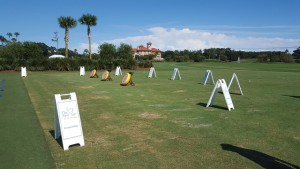 The First Tee's version of Stonehenge at TPC Sawgrass.