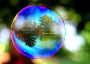 Bubbles sometimes reflect many things in our lives.   Photo Credit: Google Images