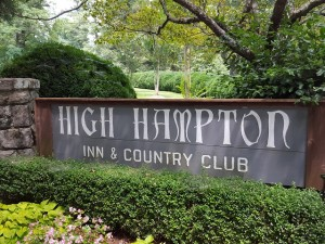 Finding the entrance to High Hampton Inn is like finding a Secret Door to Heaven!