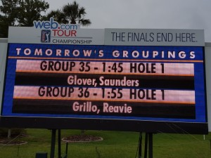 Will the winner come out of the final two pairings or be one of eleven players within 6 strokes of the lead?