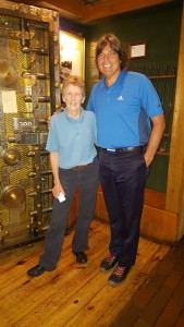 Meeting Mimi Byrd Kyser at Sam Snead's Tavern before I knew she was Keene's sister!