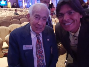 With Gus Andreone, what an inspiration!