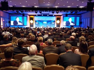 It was a packed house in the Grand Ballroom at the PGA National Resort & Spa.