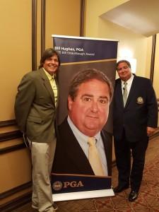 With Bill Hughes, 2015 Bill Strausbaugh Award Recipient.