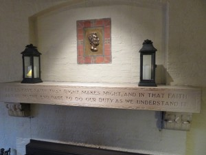 Lincoln Room, Lincoln Quote...