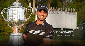 Jason Day, 2015 PGA Champion, the newest of Kohler-hosted Champions!