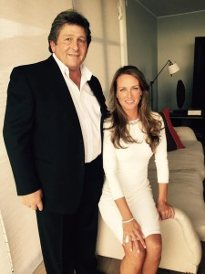 Fulton Allem with his wife Jennifer in South Africa to receive the prestigious honor of being elected into the Southern Africa Golf Hall of Fame.