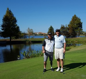 With American Hero, Three-time Warrior Open Champion, and Golf Channel Big Break contestant Chad Pfeifer. What a great guy, what an honor to meet and play golf with him!