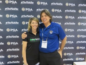 With Toni Taylor, the leader of the Golf MOJO Revolution.