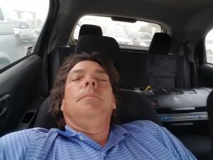 _asleep in car