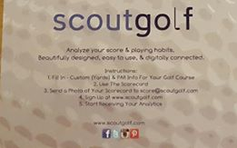 ScoutGolf, the creation of Quinn Schara.