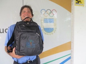 My First Tee backpack has accompanied me to Mexico, Central & South America, Australia, New Zealand and most recently South Africa... 7-1/2 months of world golf travel!