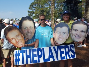 Always a lot of fun to be at THE PLAYERS, never know who you will meet outside the ropes!