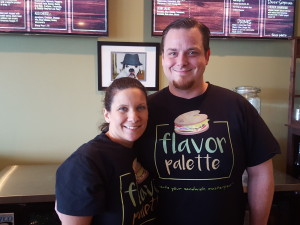 Owner & operators of Flavor Palette—Tommy McDonough & his wife Jamie.