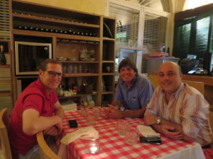 Dinner at Andante Allegro Vivace and a walk around Cartagena with Joseph and Carlos to complete an extraordinary day!