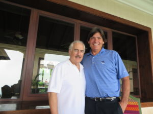 With Colombia's 30th President Andrés Pastrana Arango at Reunion Resort in Guatemala.