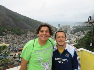 With Jody King at the top of Favela Rocinha!