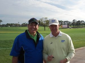 1.1 Andy with Ernie Els 2008 Honda Classic Champion Wed 2-27-08