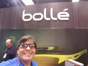 Good to connect with Bollé at this year's PGA Show in Orlando!