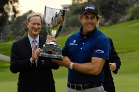 Phil Mickelson repeats as Champion of the 2009 Northern Trust Open at Riviera CC. Photo Credit: WorldGolf.com