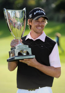 Aaron Baddeley, Champion of the 2011 Northern Trust Open at Riviera CC. Photo Credit: SuperSport