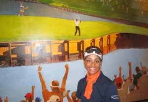 """Robyn James in the process of becoming """"better than most"""" at TPC Sawgrass."""