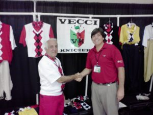 With Tony Vecci at one of our many meetings at the PGA Merchandise Show in Orlando!