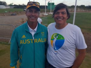 With Australian Olympic Golf Coach Ian Baker-Finch!