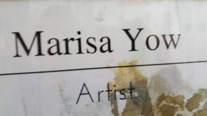 Marisa Yow, Artist Extraordinaire!