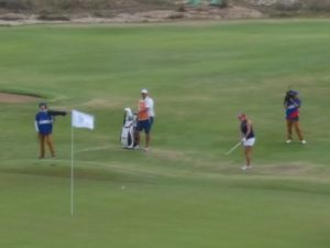 Gerina Piller saves par on 18, shoots a 67 to finish minus 6, T8. Inbee Park birdies the 18th to finish minus 10, 1 stroke better than Stacy Lewis.