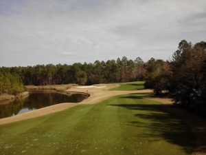 Playing Slammer & Squire... par-3 7th is a spectacular Redan...