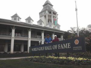 Visiting World Golf Hall of Fame with good friend & fellow Binghamtonian Charlie Novitske...