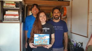 With Alexis & Christian in and on their Tiny House Expedition!