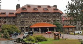 The Omni Grove Park Inn in Asheville, North Carolina!!!