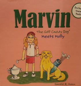 Here comes Molly in Marvin The Golf Caddy Meets Molly! Photo Credit: Mann USA, Inc.