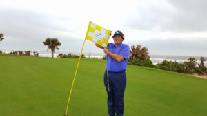 Not only did I survive but I thrived playing the Ocean Course in the wind!
