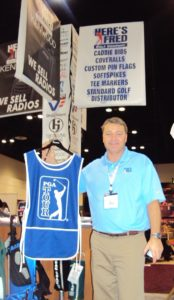 1 Doug Kirchhoff President Here's Fred Golf Company Booth 3535 1-29-11