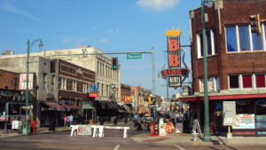 Beale Street and the great B.B. King's Blues Club!