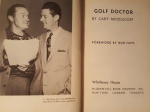 Dr. Cary Middlecopp Golf Doctor 1950