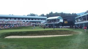 Appleby's 59th stroke at the Greenbrier, a putt for deuce and a score of 59!