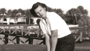 Peggy Kirk Bell. Photo Credit: WGHOF.