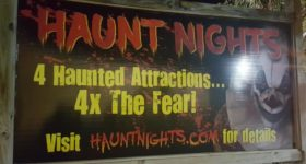 FORE!!! Haunt Nights at Adventure Landing in Jacksonville Beach, Florida