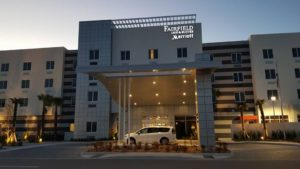 The beautiful & luxurious Fairfield Inn & Suites at ONE DAYTONA!