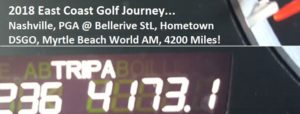 The World Am was a great finish to the memorable month-long, 4,173-mile East Coast Golf Journey!