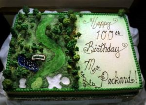 Packer 100th Cake 2