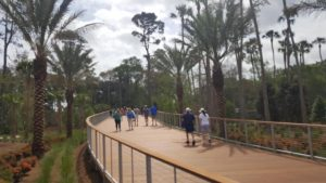 The new walkway from the Nicklaus Gate, evidence of the new era of PGA TOUR Chairman Jay Monahan!