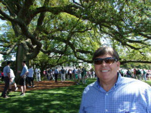 Nothing better than being back at The Masters and hanging out under the old oak tree by the clubhouse!